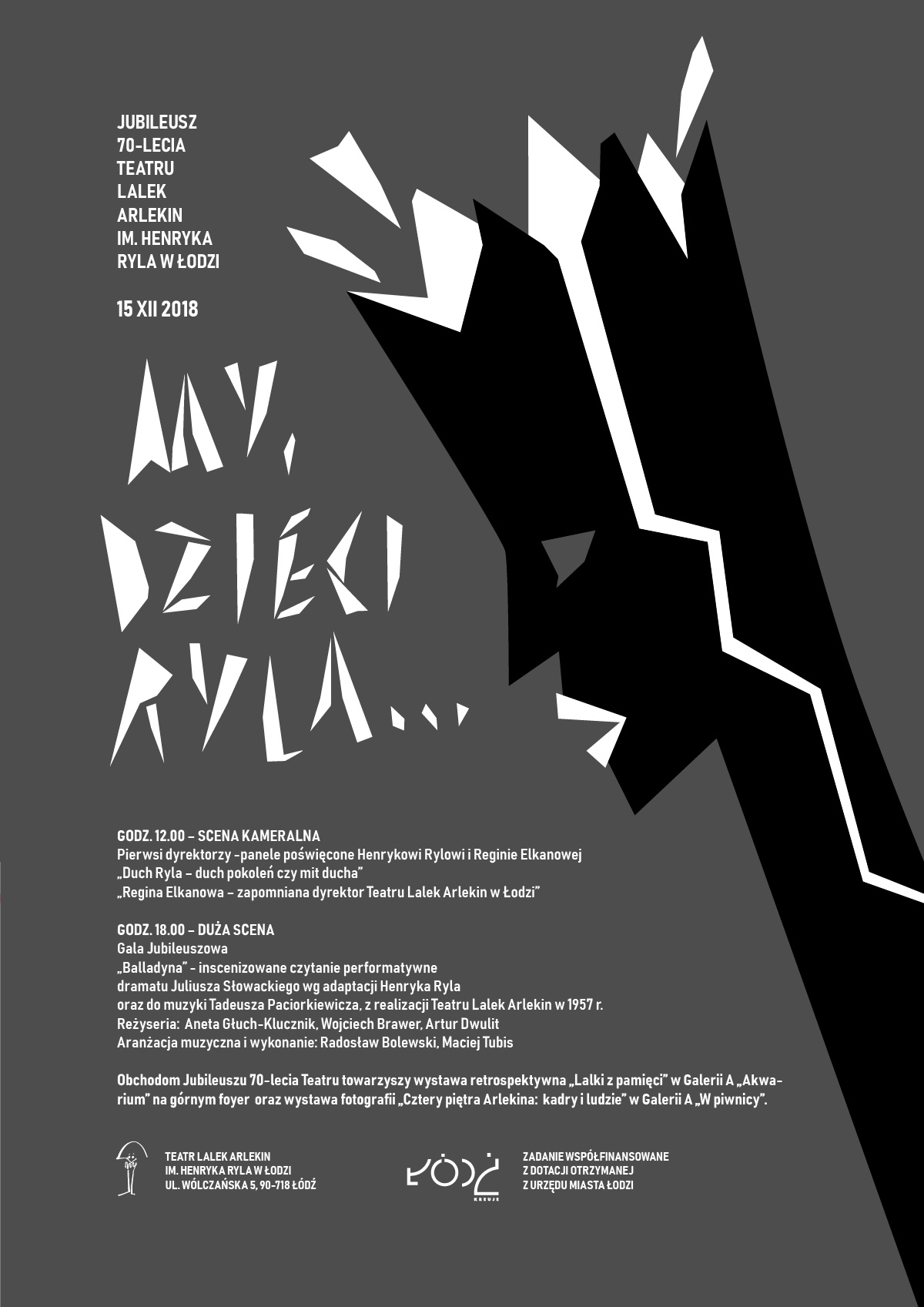 titleStart - Teatr Lalek Arlekin im  Henryka Ryla w Łodzi